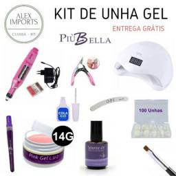 Kit de Unha Piu Bella / Magic Nails / Manicure / Cuiabá - Loja Alex Imports Mt