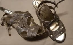 Sapato Prateado