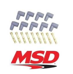 Chupetas para Cabo de Vela 8 a 8.5mm MSD 90 graus kit com 09 unidades