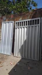 Portão de alumineo