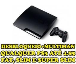 Des Trave CFW Ps3 todos os Modelos: Fat, SLim e Super Slim Jogos no HD com Multiman