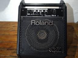 Roland PM 10. Amplificar para bateria eletrônica