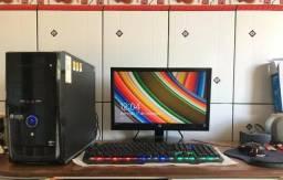 """PC completo com monitor 18,5"""""""