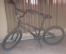 Bicicleta caloi cross preta