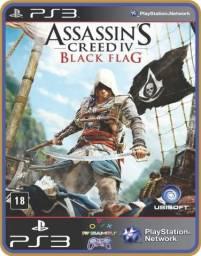 Título do anúncio: Ps3 Assassins Creed 4 Black Flag