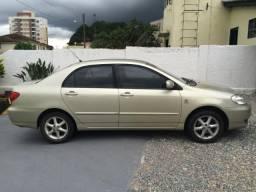 Toyota Corolla XEi 1.8 2003/2004 bege conservado - 2004