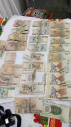 Começao de moedas e dinheiros antugos