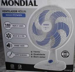 Vendo um ventilador