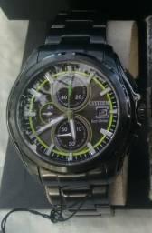 1688cc85e1c Relógio citizen eco-drive Sport cronógrafo
