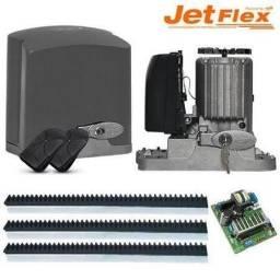 Portao eletrônico 4segundos jet flex instalado