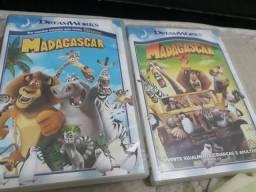 Madagascar 1 e 2 Originais.