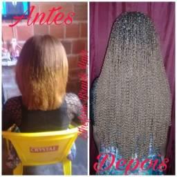 Sthefens_hair promoção de carnaval aplicamos tranças miojo apartir de 120$