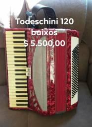 Vendo Todeschini 120 baixos impecável