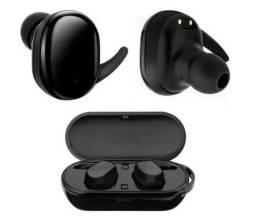 Fone de ouvido com viva-voz Bluetooth Fone de ouvido TWS D77 mini