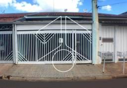 Casa à venda com 2 dormitórios em Jardim aparecida nasser, Marilia cod:V6771
