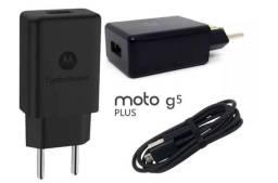 Carregador Original Motorola Moto G5 Plus Turbo Power