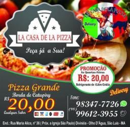 Pizzaria lá casa de la pizza
