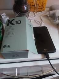 Smartphone LG K 10 novo na caixa