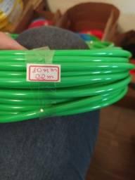 Retalhos de cabos elétricos