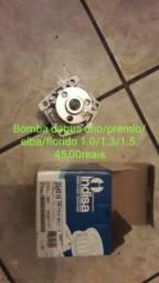 Bomba dagua uno/premio/elba/florido 1.0/1.3/1.5. 45,00reais