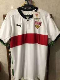 Título do anúncio: Camisa Puma Stuttgart home 2017/18 - Tamanho M