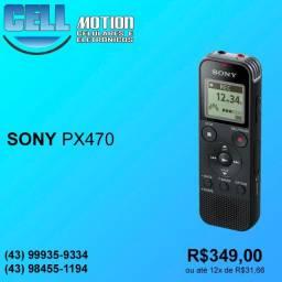 Sony Gravador de voz portátil ICD-PX470