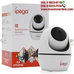 Câmera Ip Ípega Wifi com Rastreamento Humano 1080p KP-CA173 em São Luís Ma