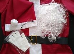 Título do anúncio: Roupa de Papai Noel 100% Nova.