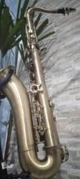 Título do anúncio: Sax tenor Eagle envelhecido