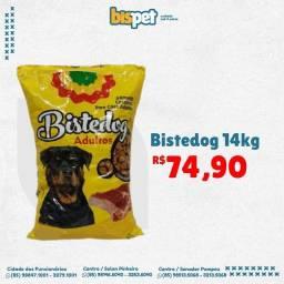 Título do anúncio: Ração BISTEDOG 14kg FRETE GRÁTIS