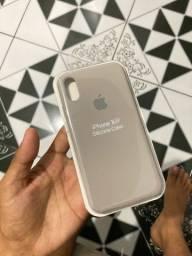 Capinha iPhone X original  Silicone