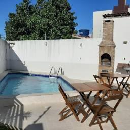 2 quartos com piscina