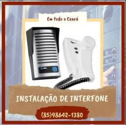 Título do anúncio: Interfone - Instalação de interfone em todos os bairros