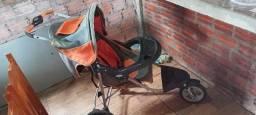Título do anúncio: Carrinho de bebê usado