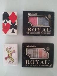 Grande Oportunidade. Aproveite! Vendo Coleção de jogos de cartas profissionais  importados