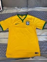 Camiseta do Brasil copa 2014 tam P