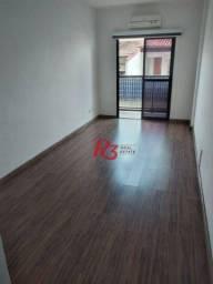 Título do anúncio: Apartamento com 1 dormitório à venda, 50 m²- Tupi - Praia Grande/SP