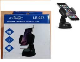 Suporte Universal Celular Carro Ventosa Gruda Vidro Painel LE-027