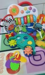 Título do anúncio: lotes de brinquedos musicais e didáticos enviamos para todo Brasil