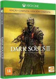 Dark souls 3 semi novo x box one.