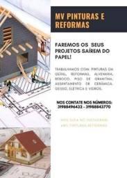 Pedreiro/Mv pinturas e reformas e construções