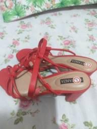 Título do anúncio: sapato vermelho 37