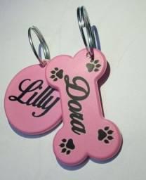 Título do anúncio: plaquinha de identificação pet personalizada