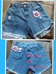 Peças jeans plus size