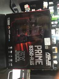 Placa mãe AMD AM4 ATX com iluminação Lacrada