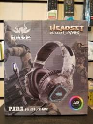 Headset gamer para ps4/xbox one/pc