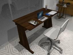 Título do anúncio: Mesa De Escritório. Rovere Imbuia. 90cm x 45cm x 74cm