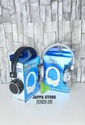 Headphone Auricular Bluetooth Inova Estéreo com Rádio FM