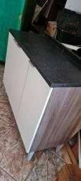 Armario balcão com tampo 1.20cm - ENTREGO