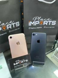 iPhone 7 32gb semi novo, loja física, aceitamos cartão